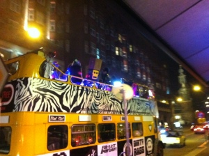 LMFAO tour bus